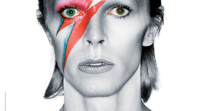 David Bowie as Ziggy Stardust