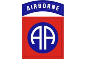 82d Airborne Division patch